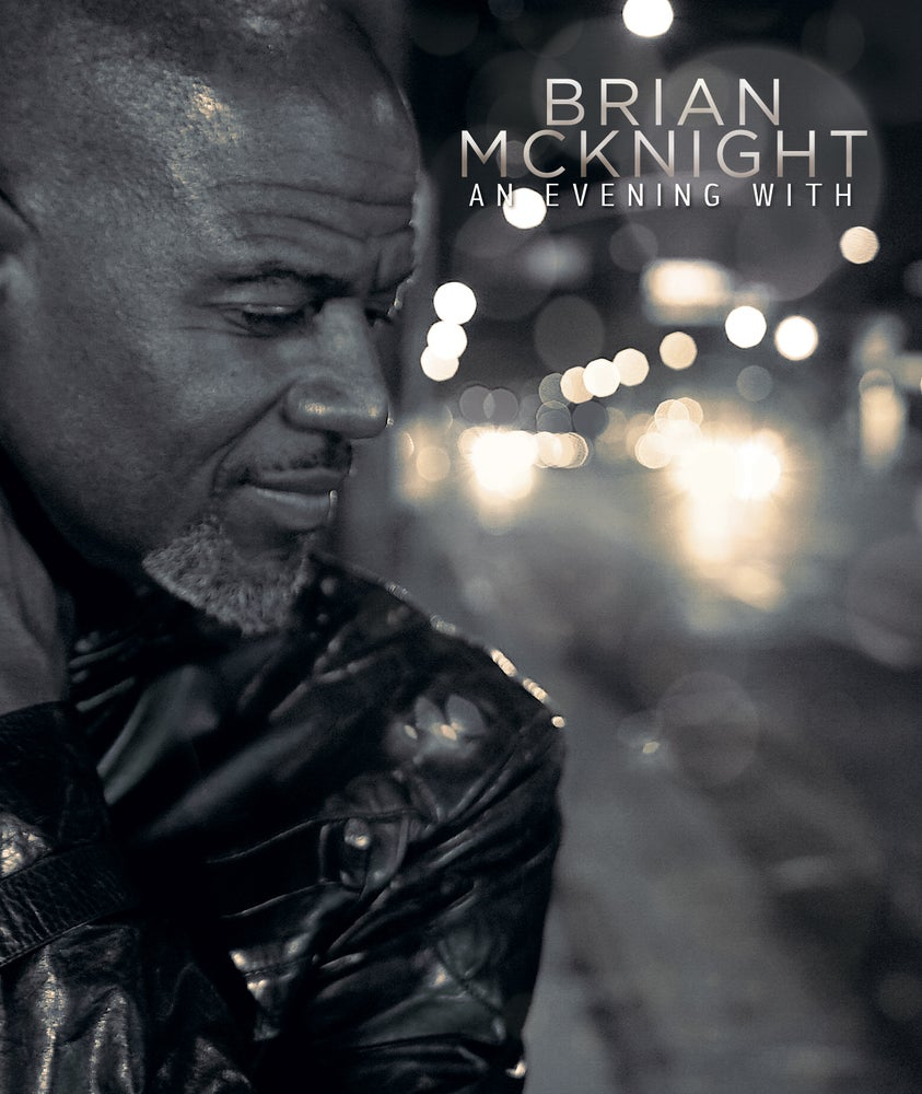 Image of An Evening With Brian McKnight - Blu-ray - Autographed Blu-ray