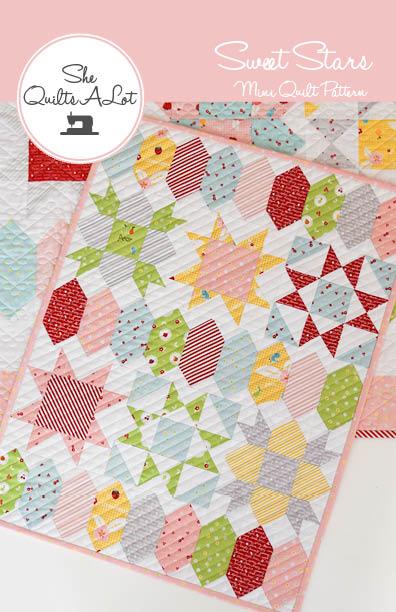 Image of Sweet Stars Mini Paper Pattern