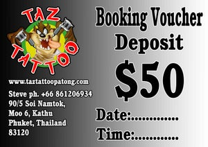 Image of Booking Voucher $50