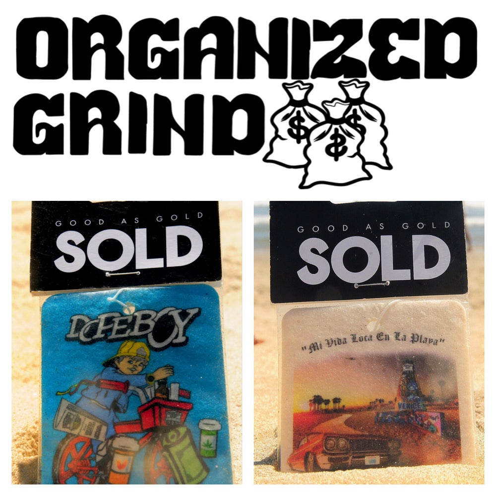 Image of Organized Grind X Sold Air Fresheners
