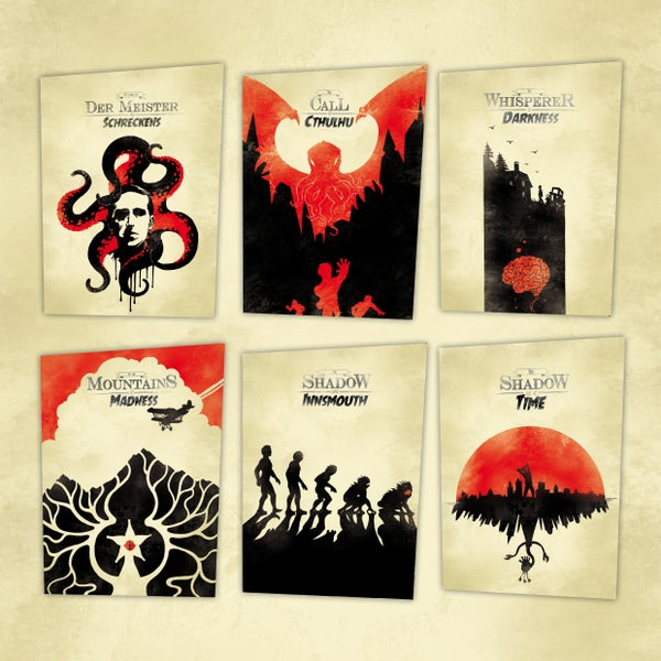 Image of Lovecraft Posterserie