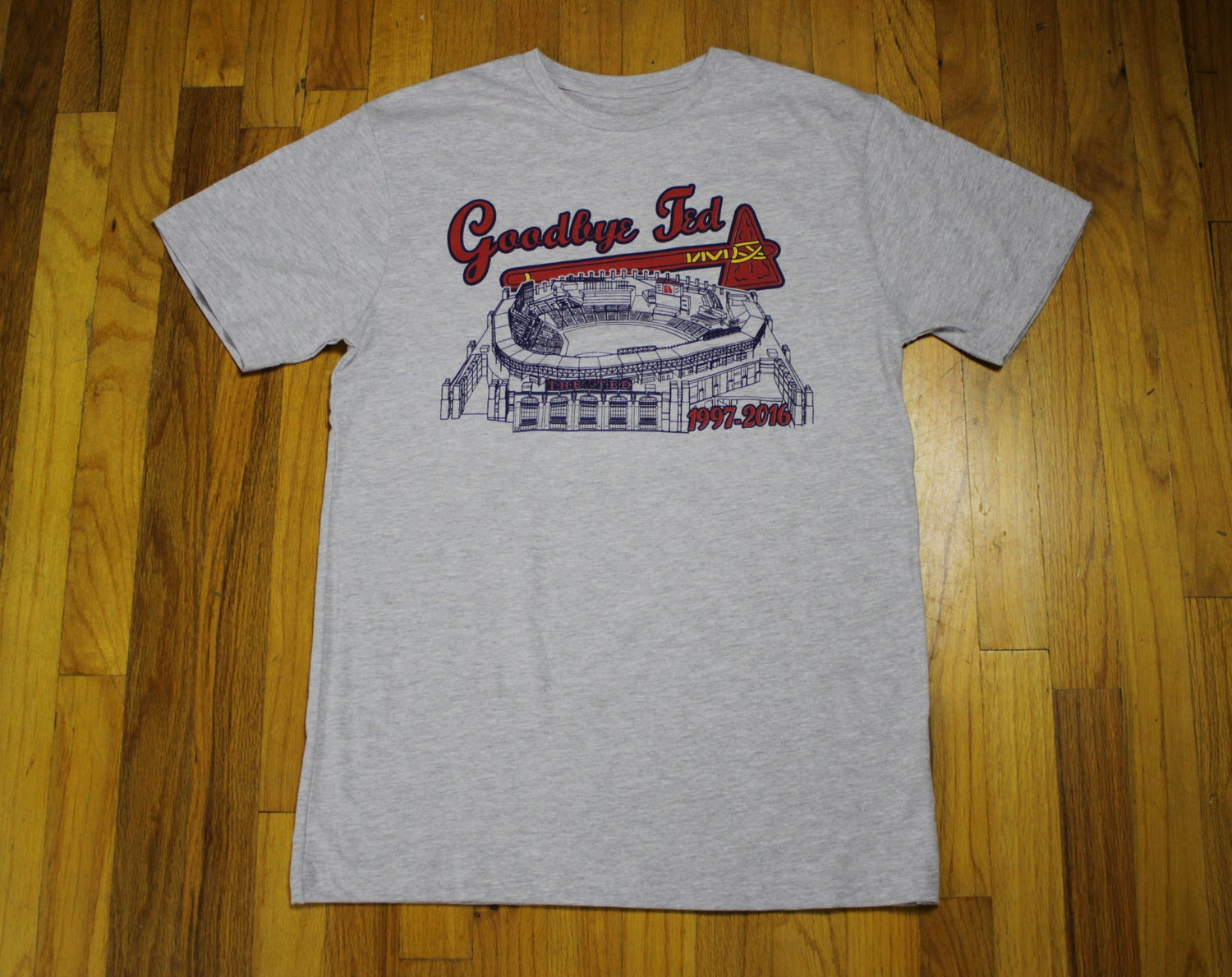 "Image of Limited Edition Turner Field T-Shirt - ""Goodbye Ted"" (NEW)"