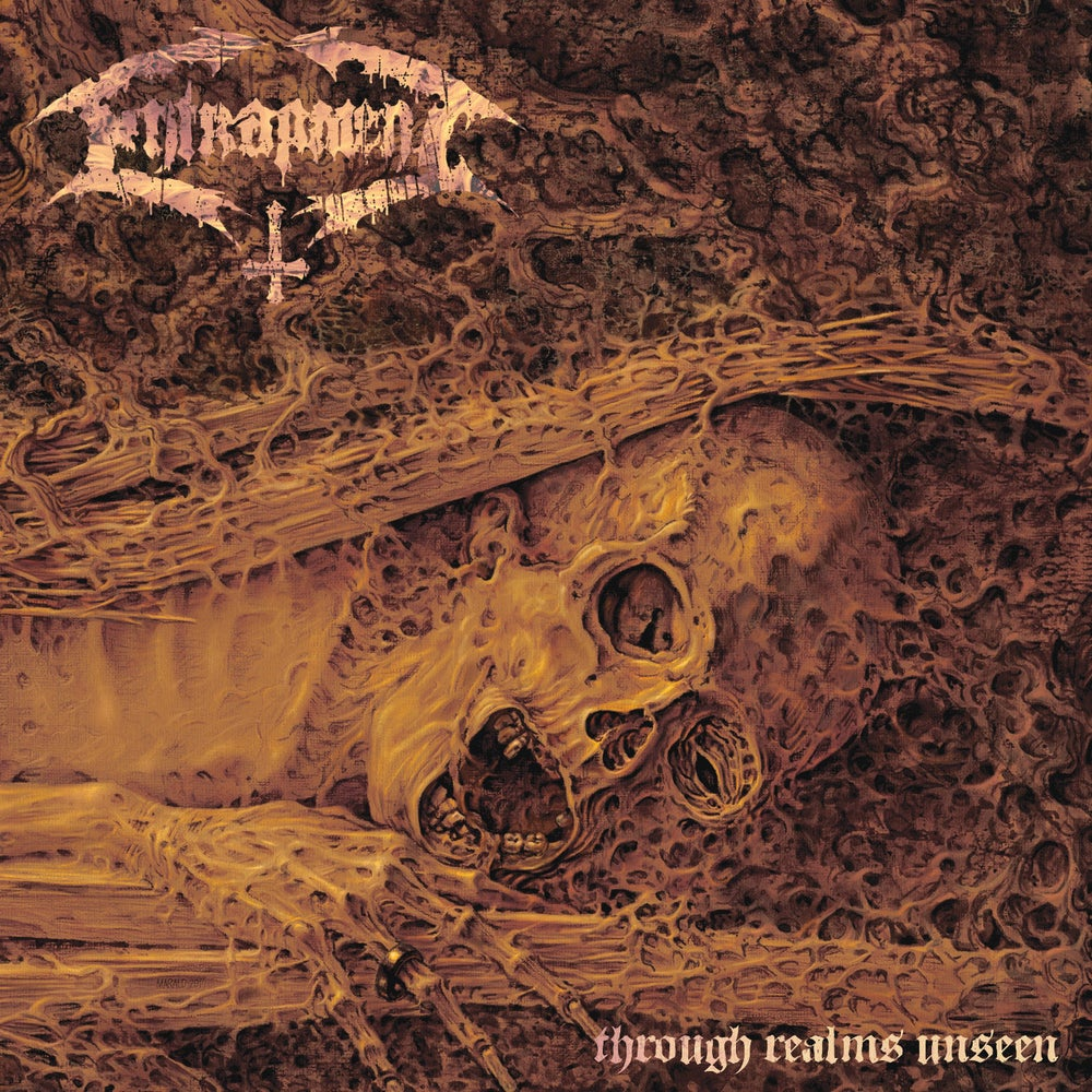 "Image of ENTRAPMENT ""Through Realms Unseen"" CD"