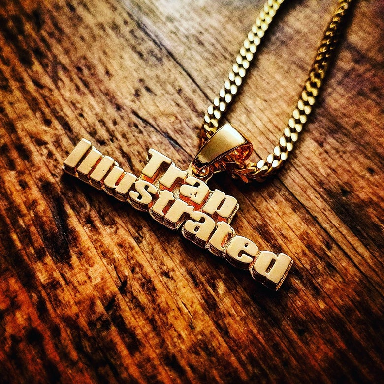 Image of Trap Illustrated Pendant (Limited Time Only)