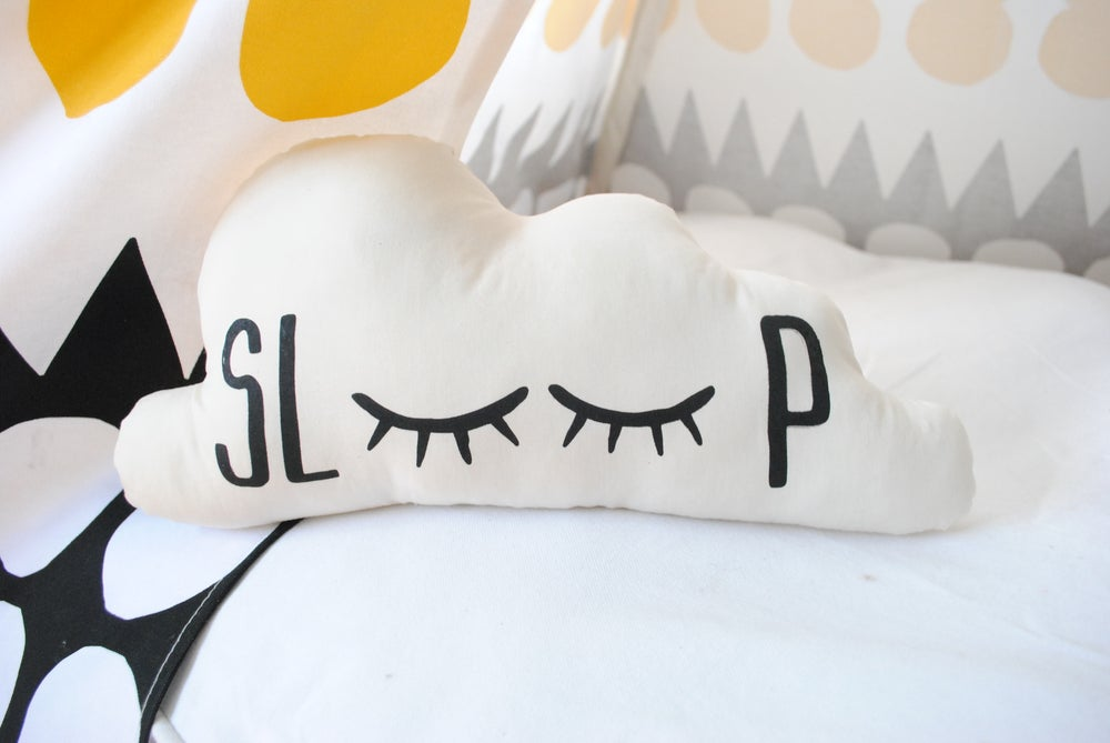 Image of Organic Cotton Sleepy Cloud Pillow