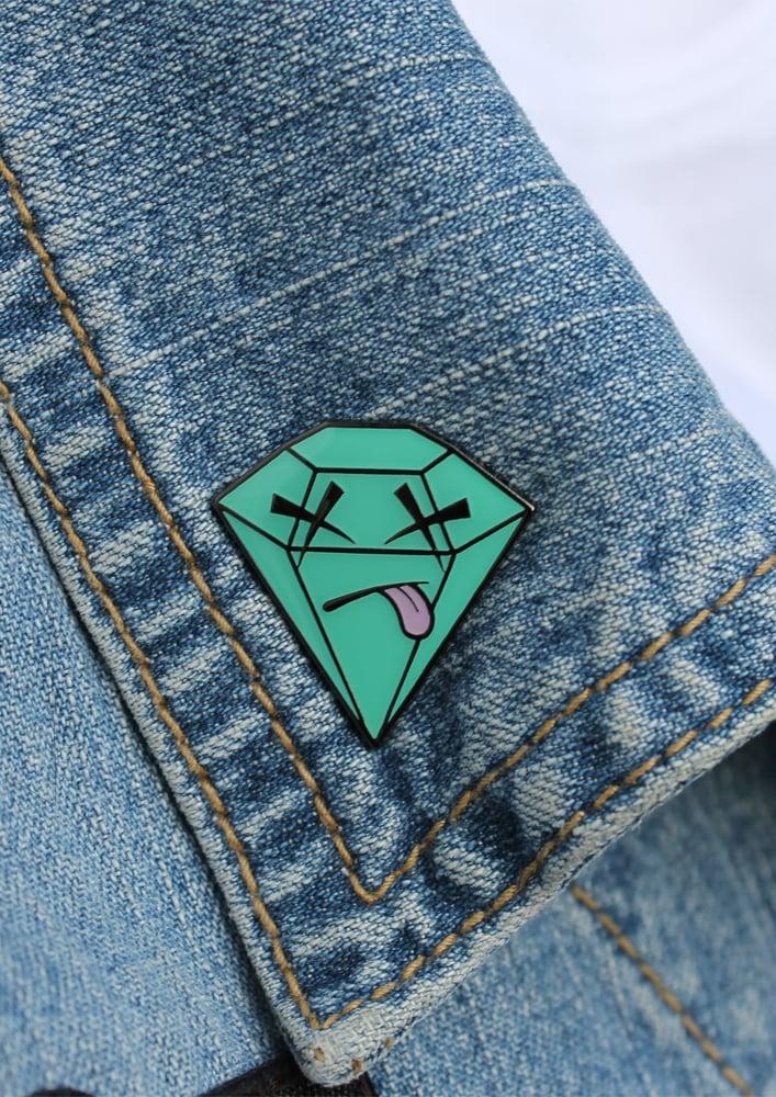 Dead Diamond Pin Badge