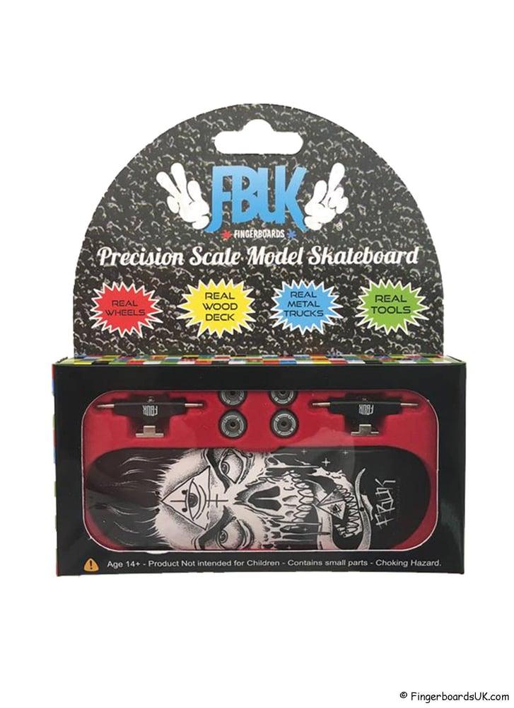 Image of FBUK Pro Graphic Fingerboard Setup - Zombie World