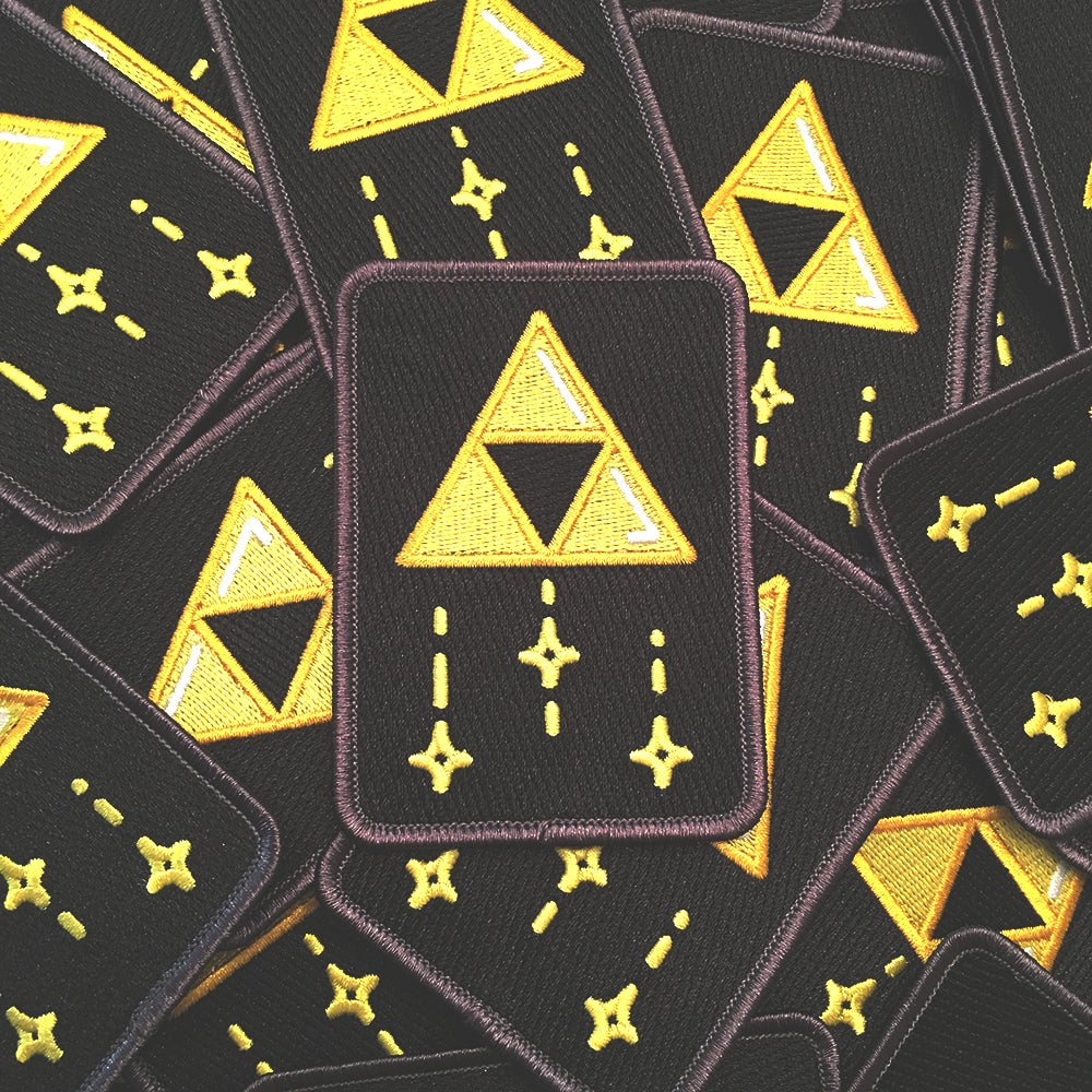 Image of Triforce Golden Power Patch