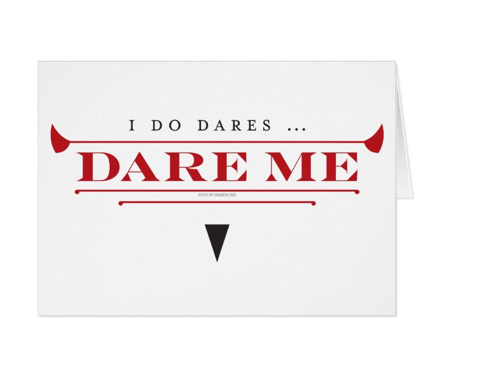 Image of I Do Dares notecards