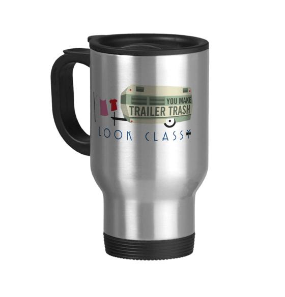 Image of Trailer Trash travel mug