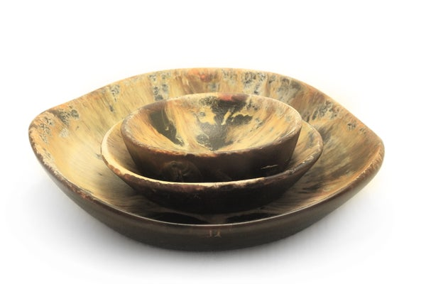 Image of Honey Brown Bowl Set