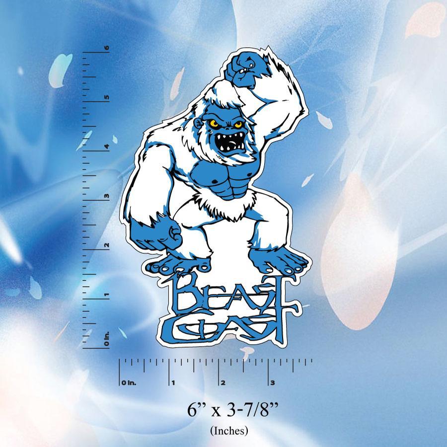 Image of Beast Coast Stickers // T-Rex // Wolf // Yeti abominable Snowman // Bear //