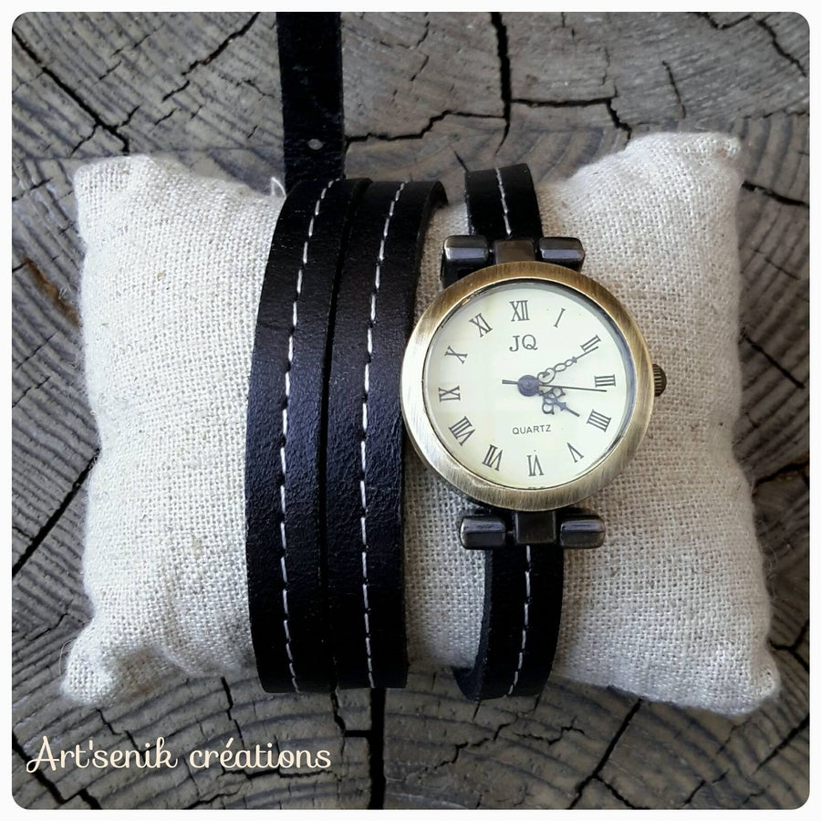 Image of Montre Noir-blanc