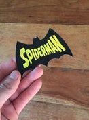 Image of Spider-man-batman-man 10cm patch