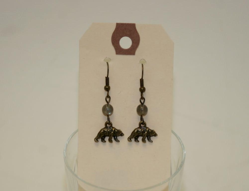 Image of Maiden Perras ~ Little Gem Earrings