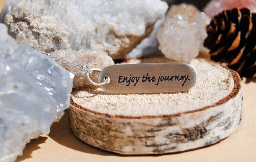 Image of Enjoy the journey necklace