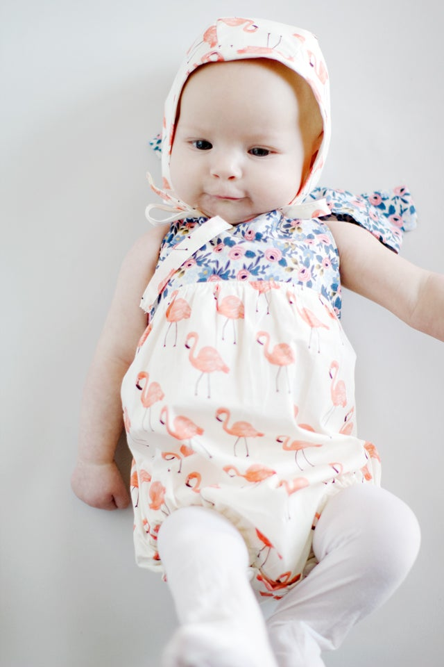 The Boho Baby Romper Pattern See Kate Sew