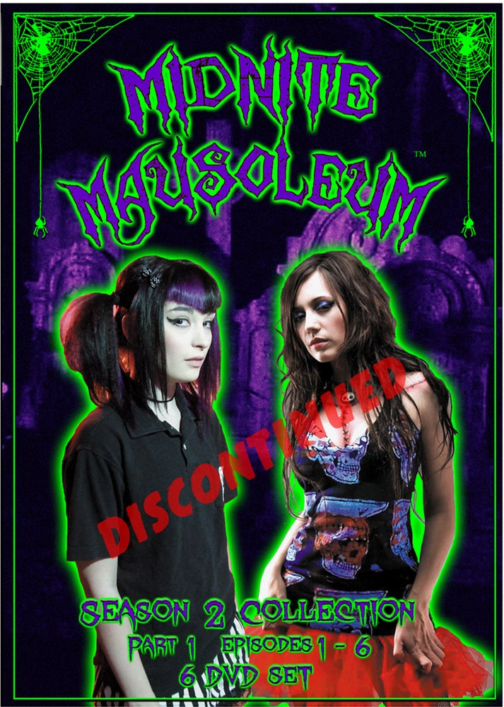 Image of Midnite Mausoleum- DVD Set Season 2, Part 1 DISCONTINUED