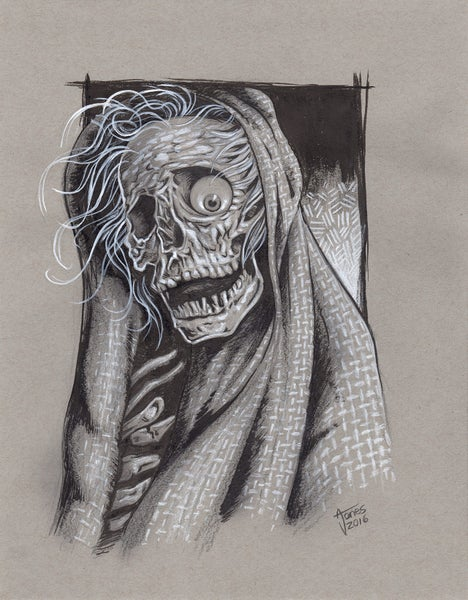 Image of Creepshow Illustration