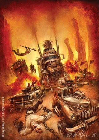 Image of Wasteland Weekend Poster