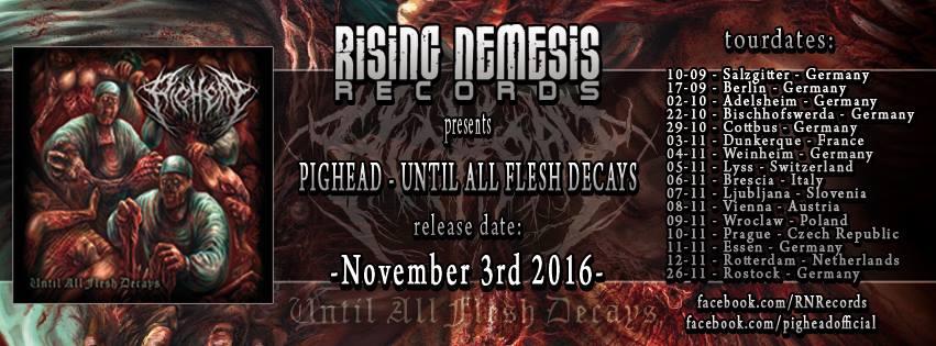 PIGHEAD - Until All Flesh Decays CD
