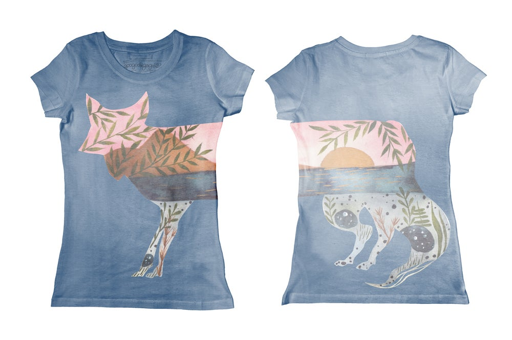 Image of Fox (Tee-shirt fille)