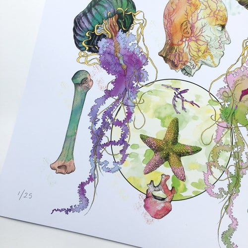 Image of Limited Edition 'Meet My Maker #1' Print
