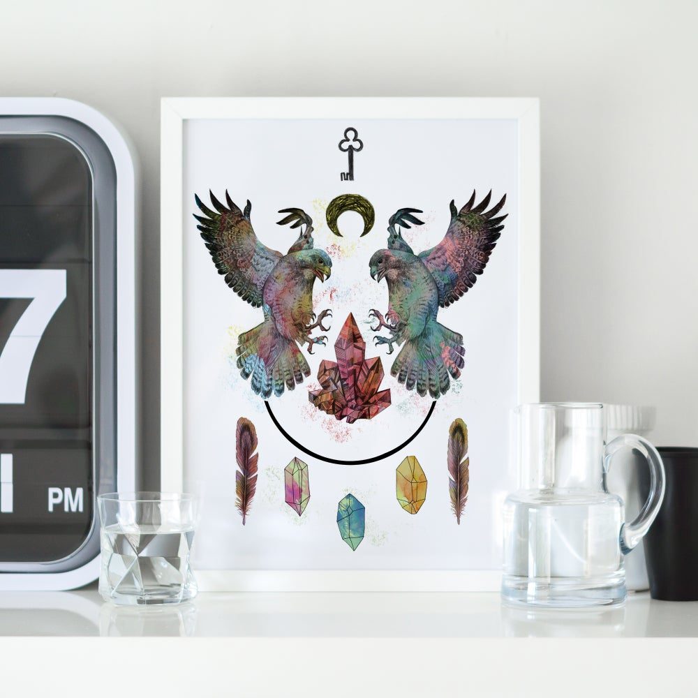 Image of Limited Edition 'On These Wings' Print