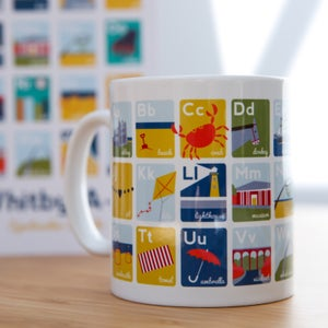 Image of Whitby A-Z Mug
