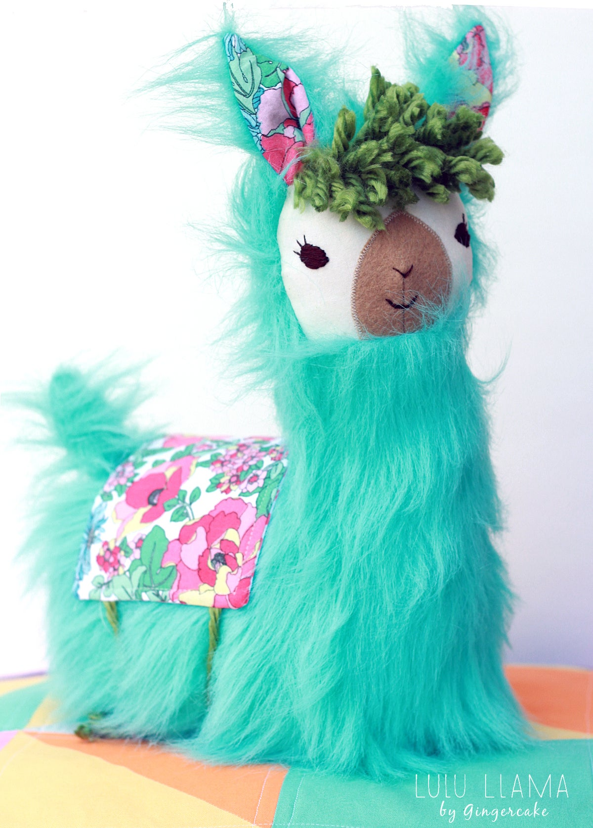 Image of  LuLu Llama Pillow PDF Sewing Pattern