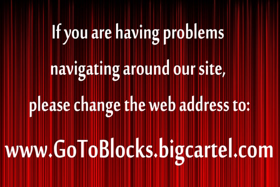 Image of www.gotoblocks.bigcartel.com