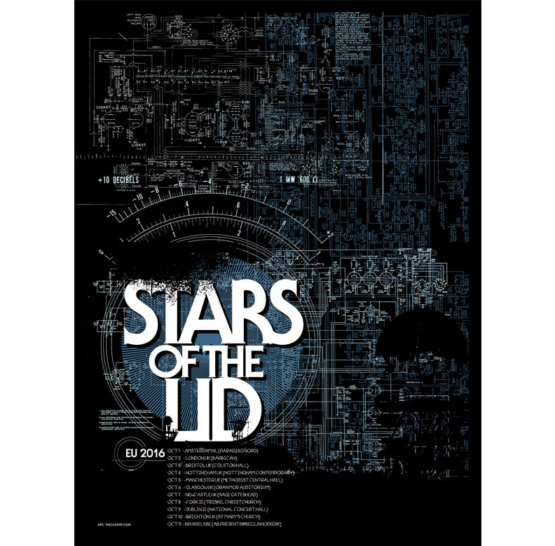 Stars of the Lid, European poster