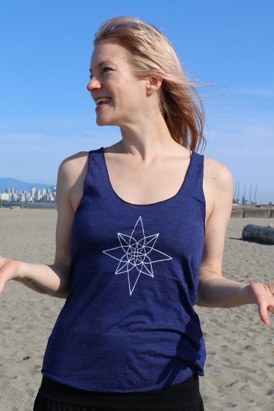 Image of Compass Mandala Tank Top