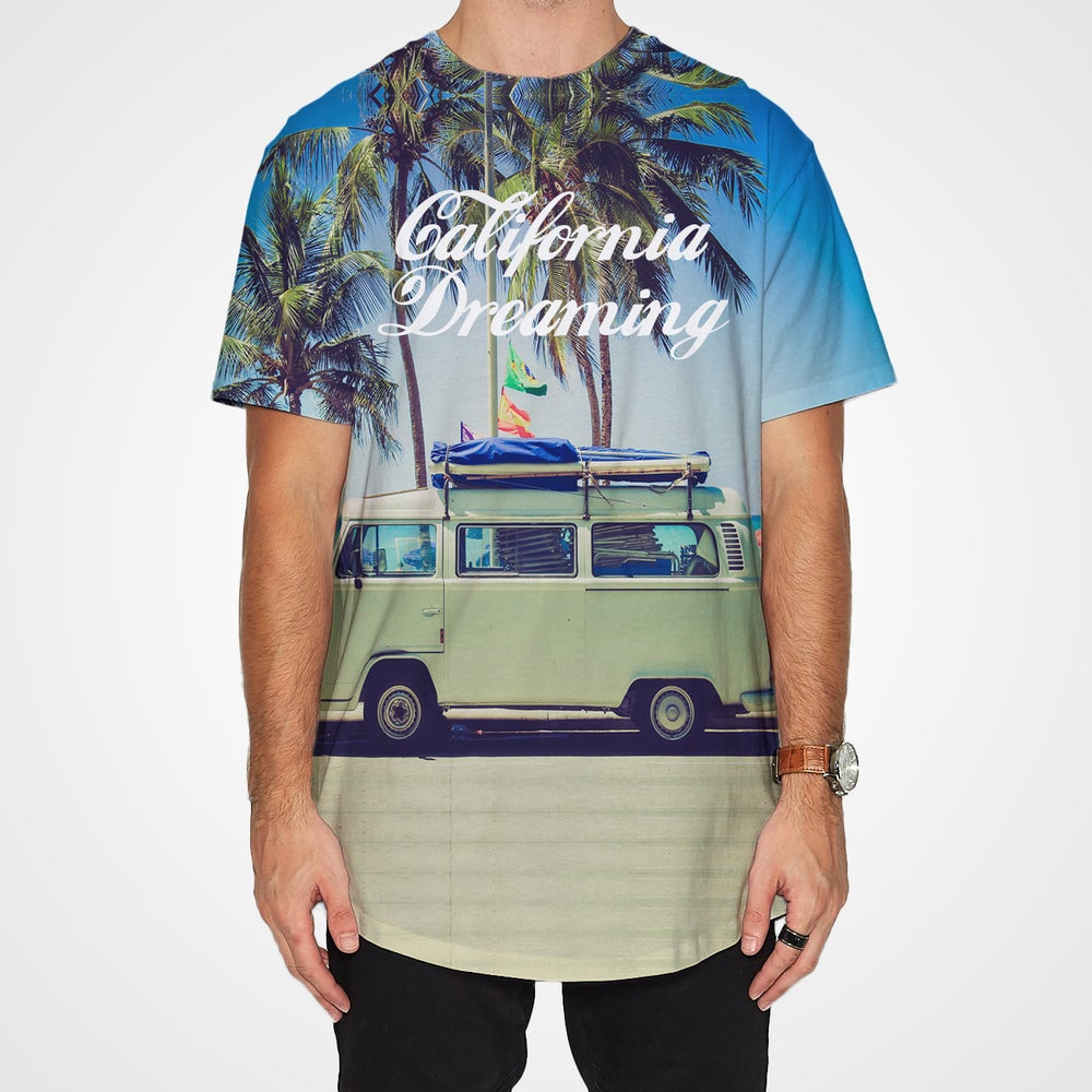 Image of Lazy Sundaze in California shirt