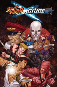 Image of Street Fighter x G.I. Joe – Signed, Numbered, Personalized & Sketched