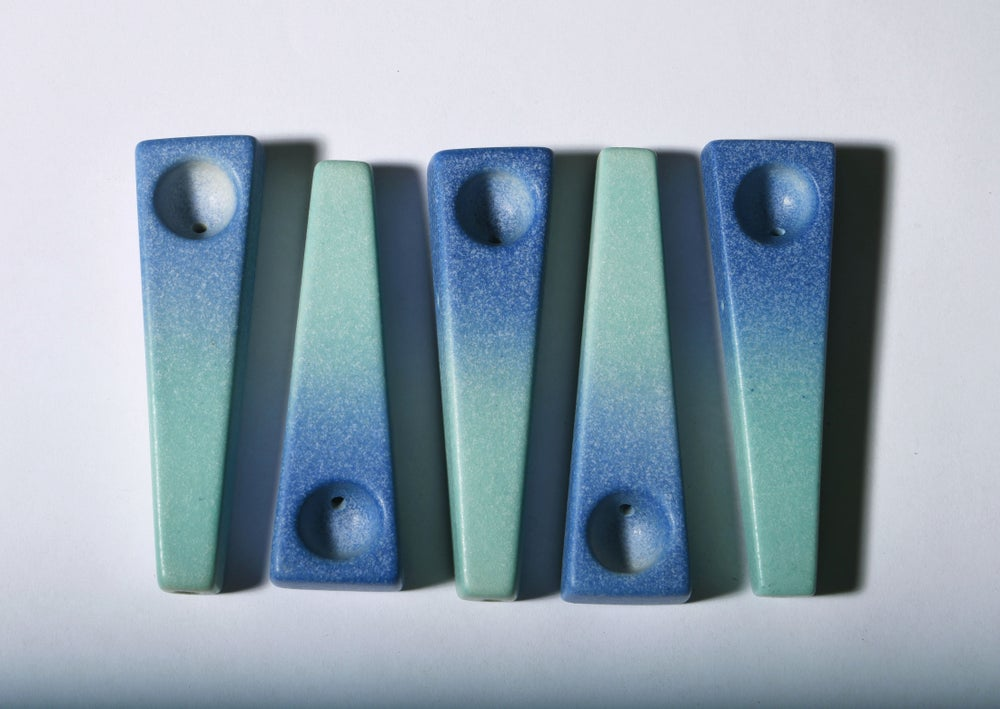 Image of Turquoise and Blue Gradient