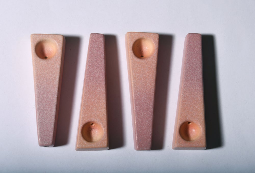 Image of Salmon and Mauve Gradient- SOLD OUT