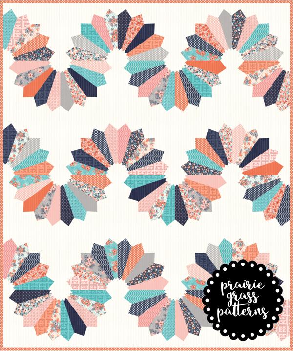 Image of #141 Serpentine Quilt Pattern {PDF}
