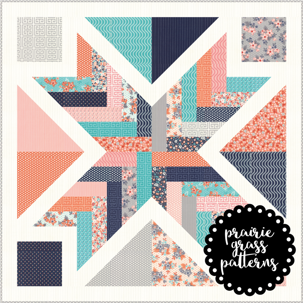 Image of #142 Starburst Quilt Pattern {PDF}