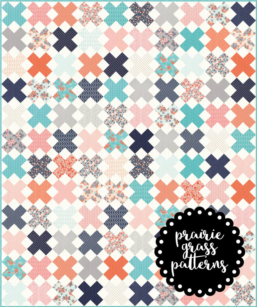 Image of #143 Crisscross Quilt Pattern {PAPER}