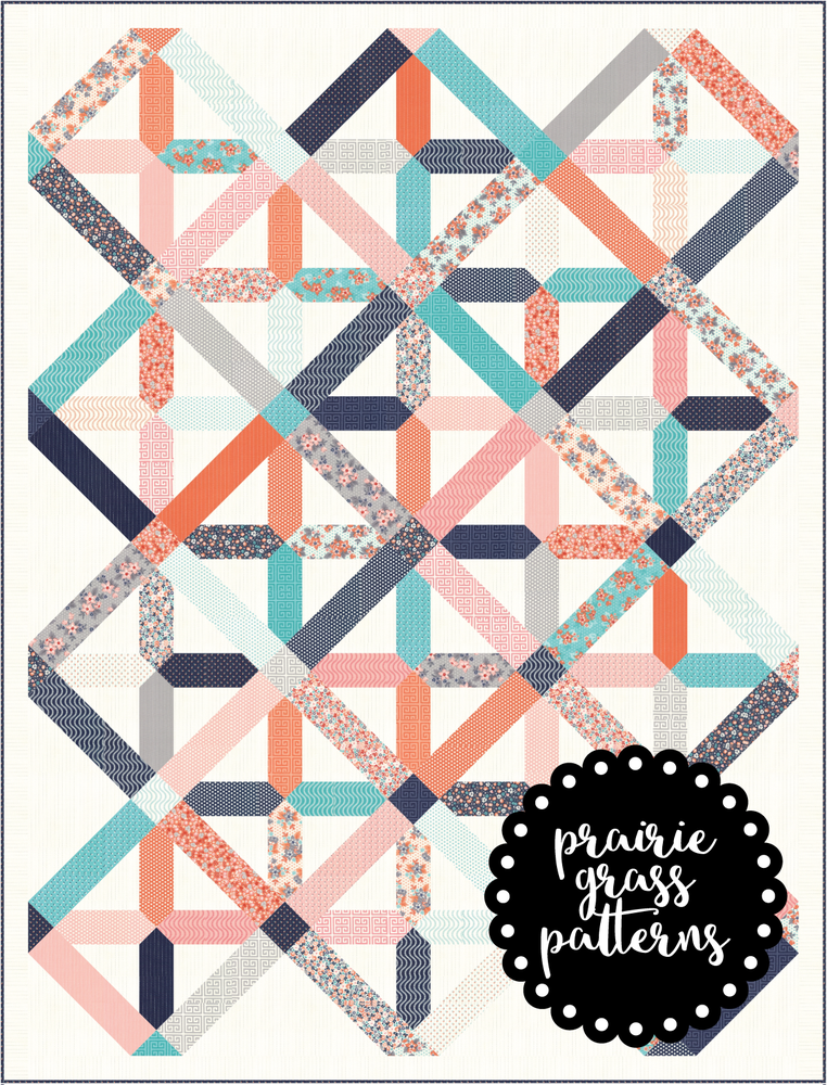 Image of #144 Tinker Toy Quilt Pattern {PDF}
