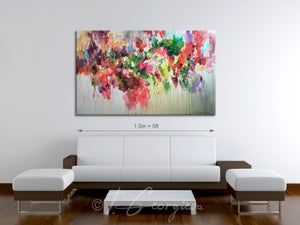 Image of Laeta - reserved for Renee only 152x90cm