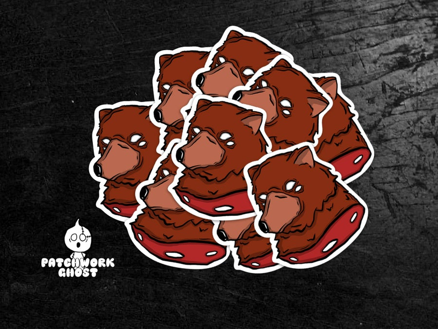 Image of Beary Nice Vinyl Sticker