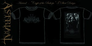 "Image of Astriaal - ""Crypt of the Bishops"" T-shirt Design"