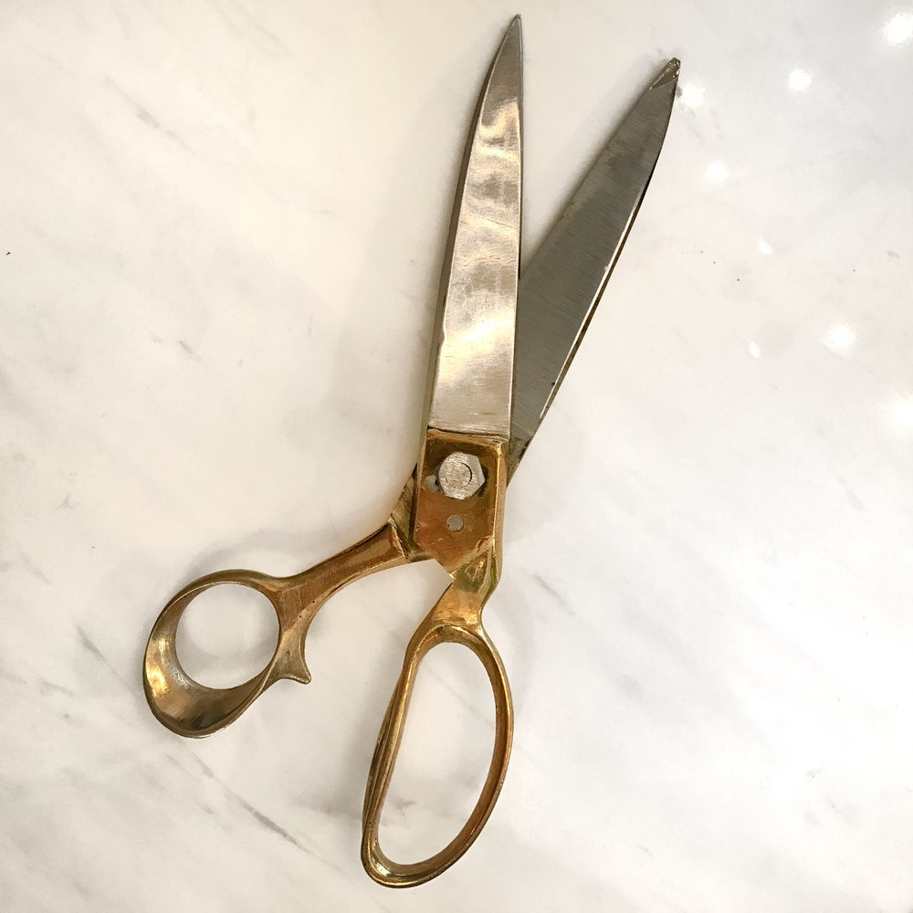 Image of Brass Tailor Scissors
