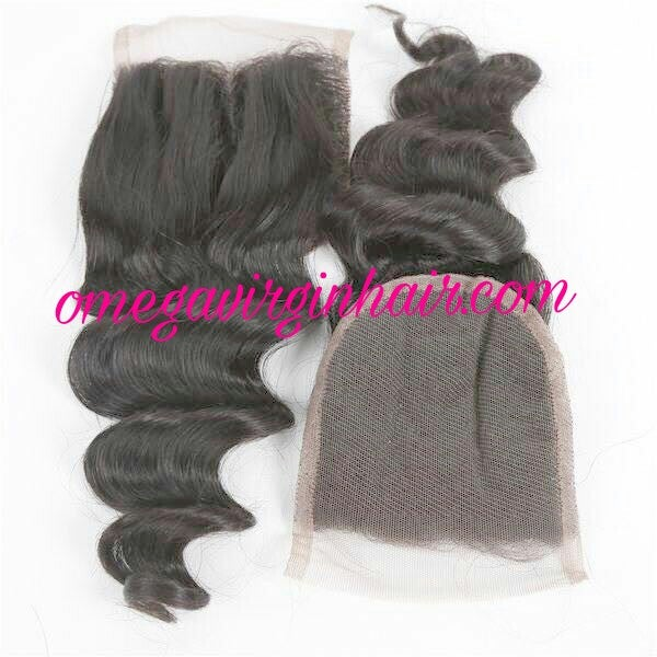 Image of LACE CLOSURES 4X4  (ALL  TEXTURES)