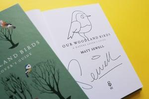 Image of Our Woodland Birds - Signed/drawn Hardback