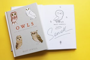Image of Owls - Sign/Drawn Hardback