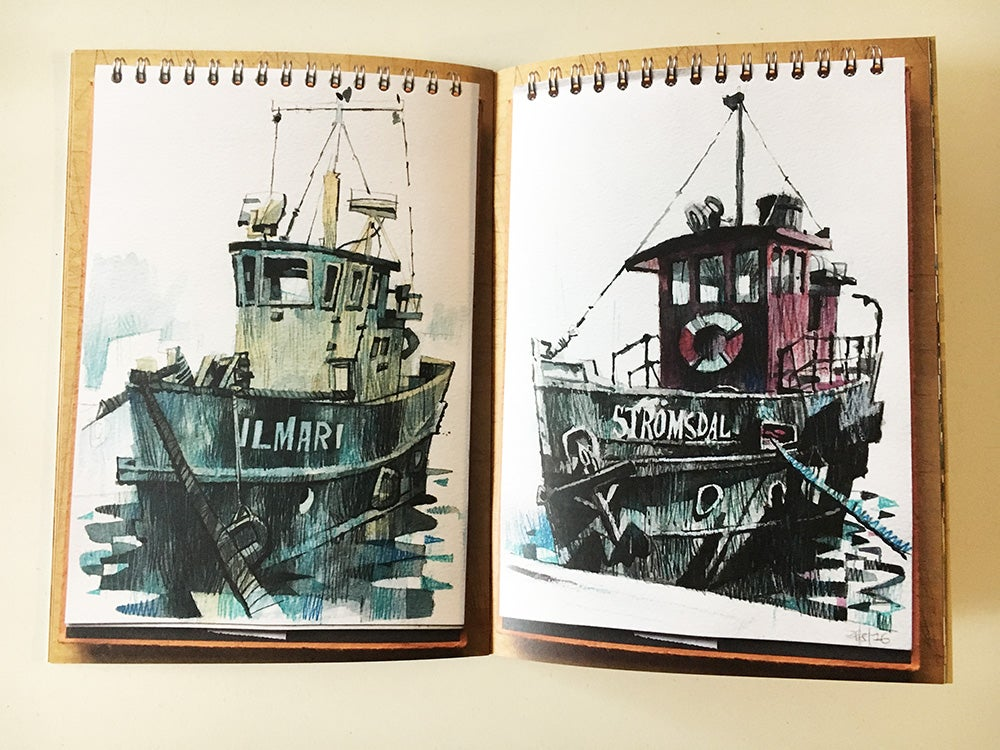 Image of Sketchbook Vol 5 - Helsinki