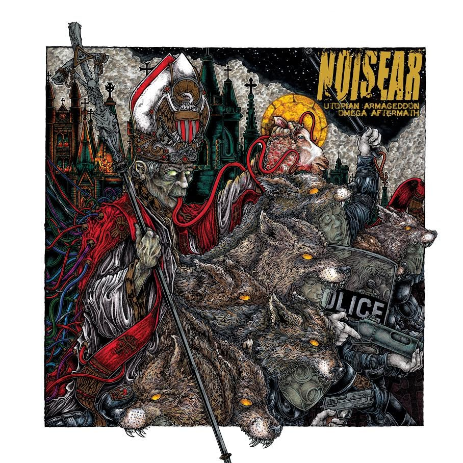 "Image of Noisear - Utopian Armageddon/Omega Aftermath (12"" 1xLP)"